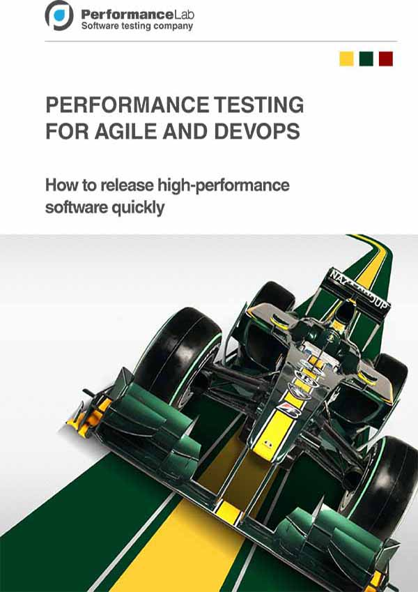 AGILE PERFORMANCE TESTING