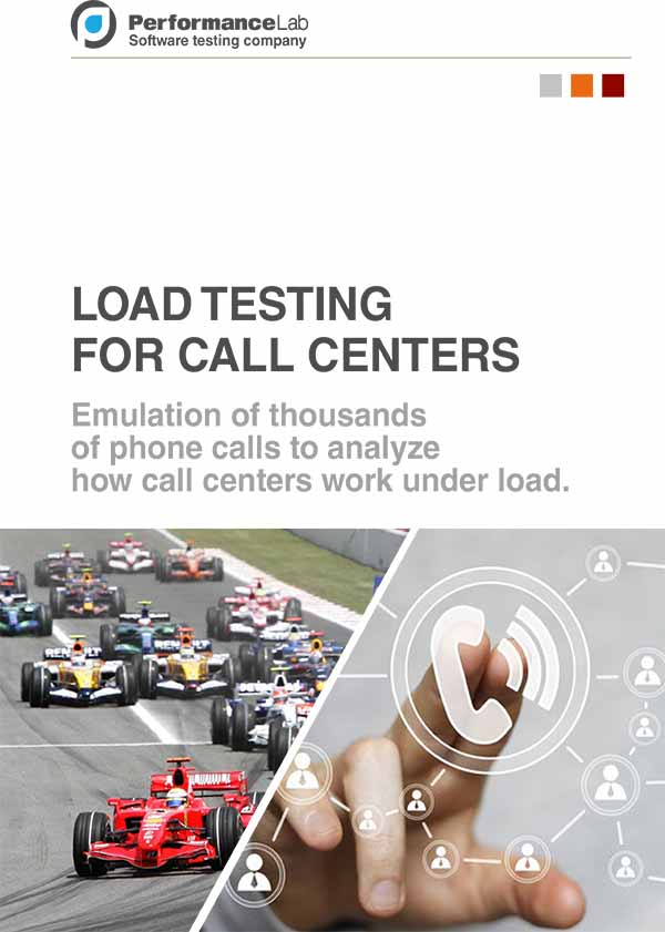 IVR LOAD TESTING SERVICES