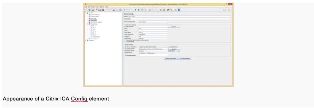 performance testing using citrix configuration example