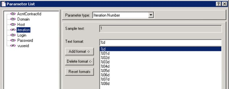 How Granularity Influences the Load Testing Results vuser parameter2