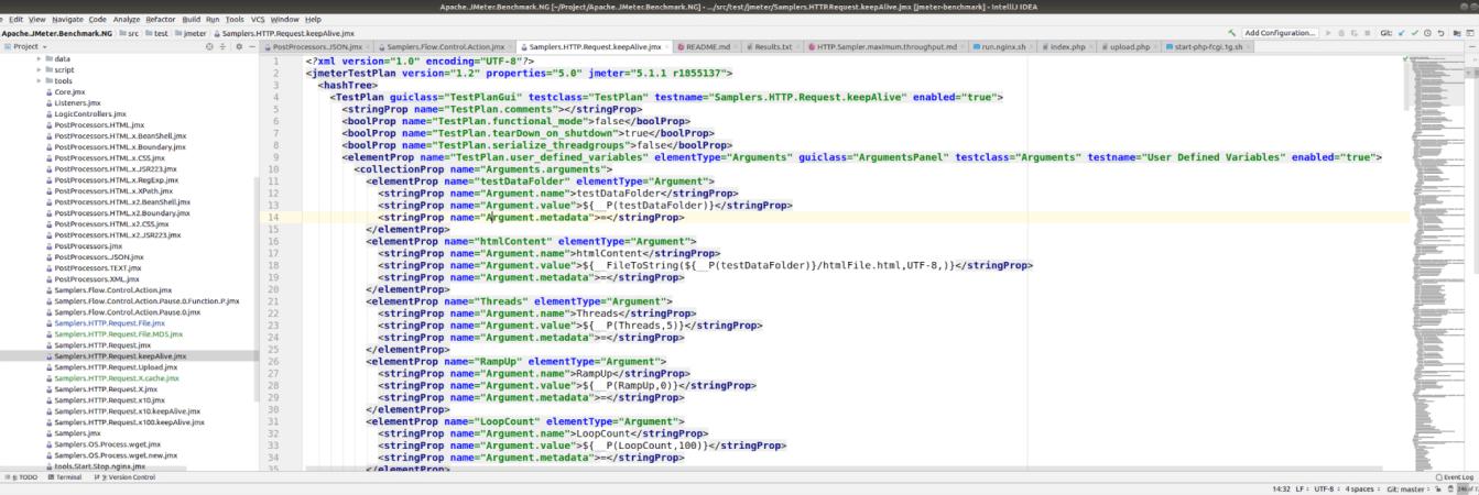IntelliJ IDEA code for JMeter