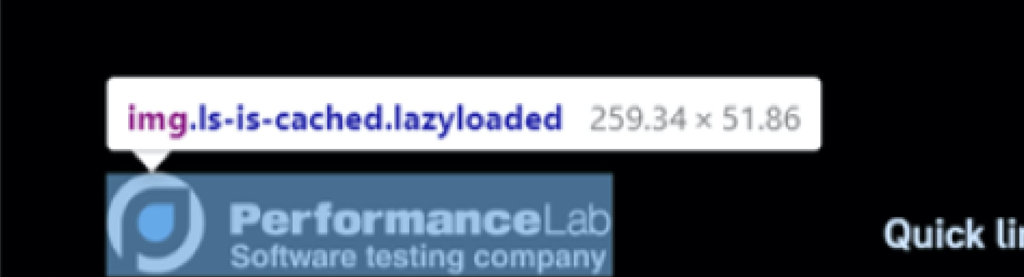Testing the website load speed